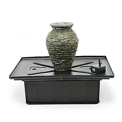 Amazon.com: Aquascape fuente de apilado pizarrón urna Mini ...
