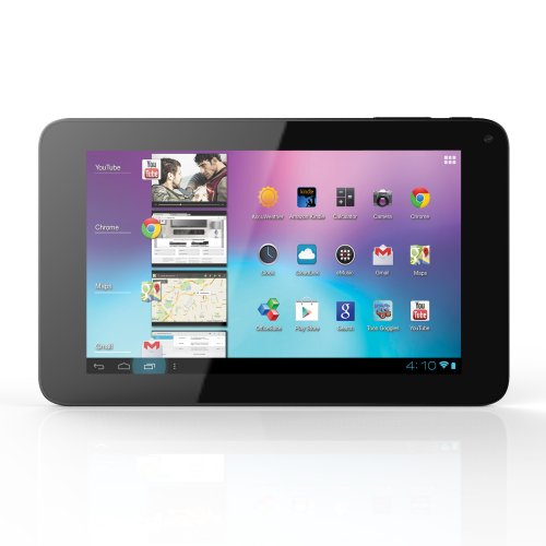 Coby 7-Inch Android 4.0 8 GB Internet Tablet 16:9 Capacitive Multi-Touch Widescreen with Built-in Camera, Black MID7065-8 (Coby Kyros Tablet Android)