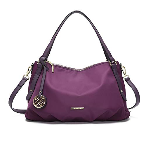 Purple Hobo Handbag - 6