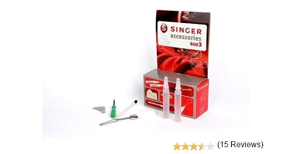 Singer Kit Accessoires 3 - Kit de Accesorios nº 3 para máquina de Coser: Amazon.es: Hogar