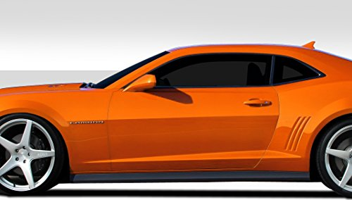 Duraflex ED-MUZ-328 ZL1 Look Side Skirts Rocker Panels - 2 Piece Body Kit - Compatible For Chevrolet Camaro 2010-2015