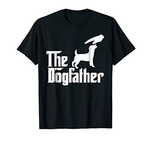 Russel Terrier Jack (Jack Russel Terrier The Dogfather Funny Dog T-Shirt)