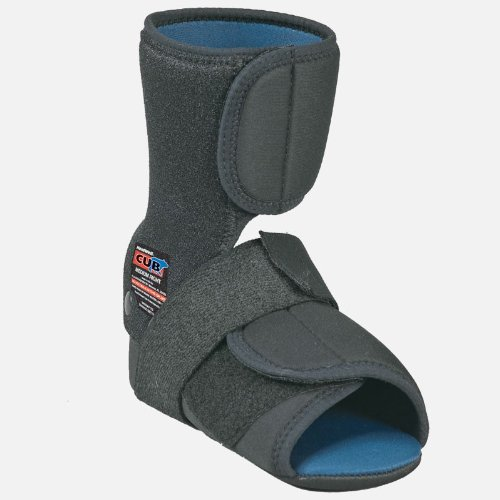 HEALWELL® CUB™ PLANTAR FASCIITIS NIGHT SPLINT LEFT LARGE BLACK - Healwell Cub Night Splint