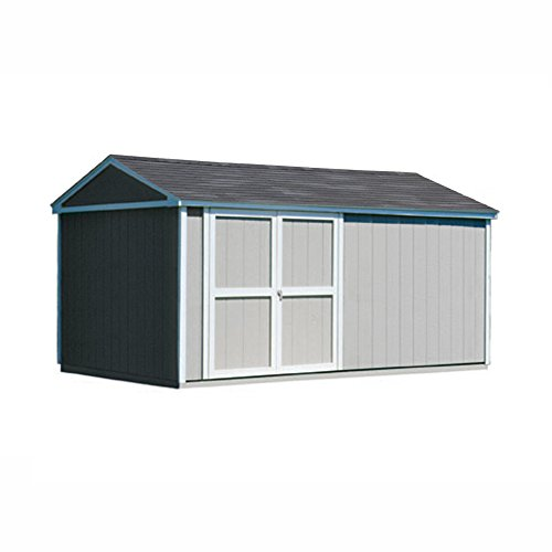 Storage Shed Wood Somerset - Handy Home Products Somerset Wooden Storage Shed, 10 by 16-Feet