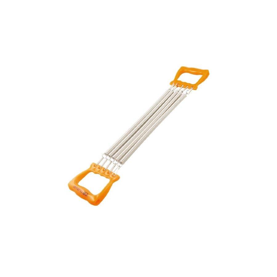 TOOGOO(R) Child Orange Handle Five Springs Chest Expander Pull Exerciser