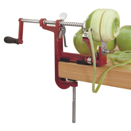 Prepworks by Progressive Apple Peeler and Corer Machine, Heavy Duty Corer Remover, Pear Slicer, Mountable on Counter or Tabletop Apple Machine by Progressive (Image #1)