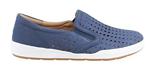 Comfortiva Women's, Lyra Slip on Shoes Denim 7.5 W
