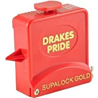 Drakes Pride Supalock Gold bowls measure - red