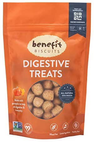Benefit Biscuits Pumpkin Dog Treats product image