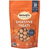 Benefit Biscuits Pumpkin Dog Treats - Certified Vegan All Natural Dog Biscuits 7oz