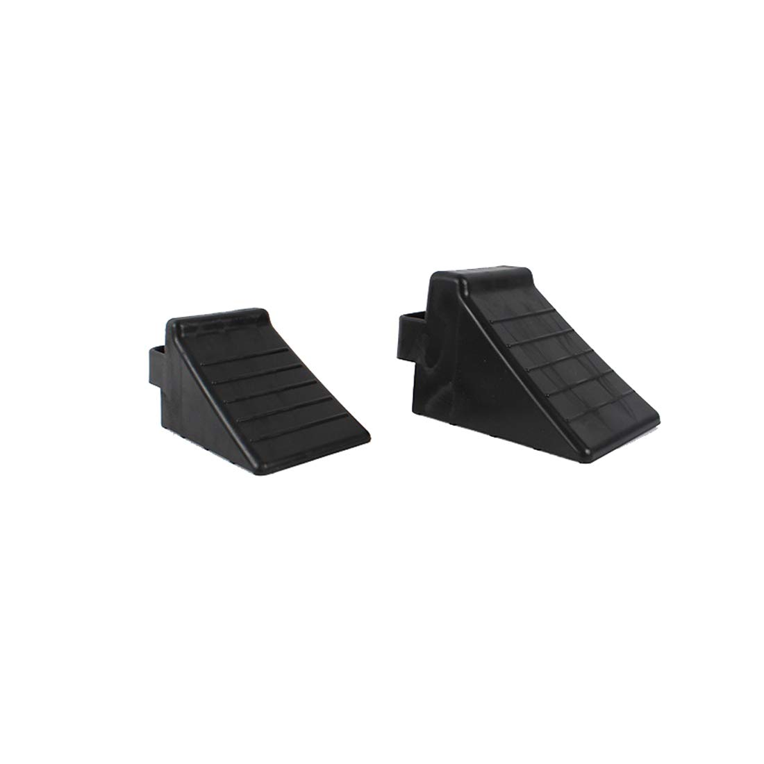 GB 2PCS of Tire Crutch Wheel Chocks for Car Truck Stopper Block Set (Large) by [GBOEM] (Image #1)