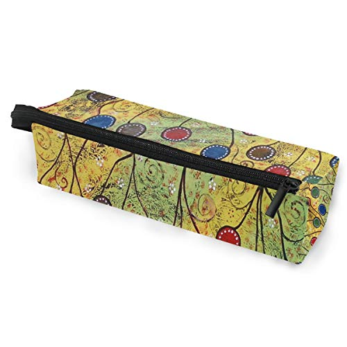 Glasses Case Whimsical s Multi-Function Zippered Pencil Box Makeup Cosmetic Bag for Women/Men