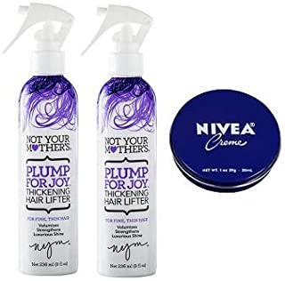 product image for Not Your Mother's 2 Pack Plump For Joy Thickening Hair Lifter 8 Oz.+ Travel Size Body Cream 1 Oz.
