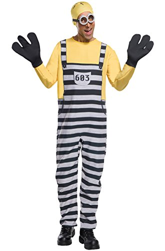 Rubie's Men's Despicable Me 3 Jail Minion