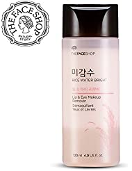 The Face Shop Rice Water Bright Lip & Eye Makeup Remover, 120ml