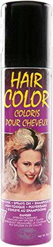 Black Colored Hair Spray (Black Hairspray Halloween)