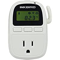 INKBIRD C919 Wi-Fi Digital Smart 110V 1500W Temperature Controller, IOS Smartphone, Heater & Cooler Thermostat Timer for Heating or Cooling Applications