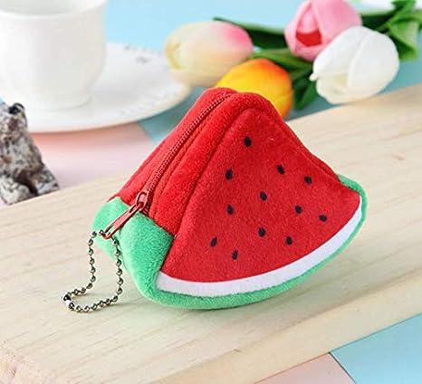 Bolsa de frutas, bolsa de mini monedero con cremallera ...