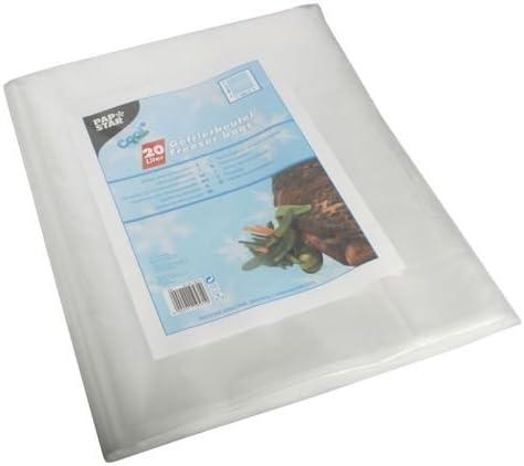 KERL 4003450010113 Lot de 10 sachets de cong/élation en PE ultra /épais 15 l 40 x 55 cm