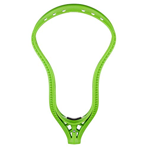 String King Mark 2T Headstrong Unstrung Midfield Lacrosse Head (Lime) (Best Midfield Lacrosse Heads)