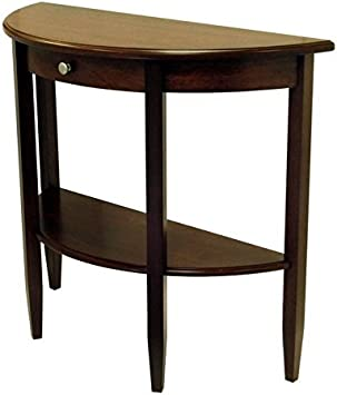Espresso Pemberly Row Console Table
