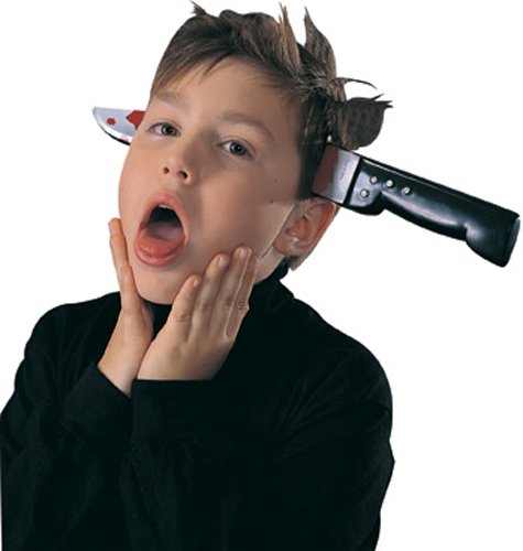 Rubie's Costume RUB443ACC Knife Thru Head Costume - http://coolthings.us