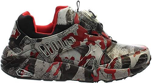 33550d1fc1259b Puma Men s Disc Blaze Camo X Trapstar Ankle-High Fashion Sneaker ...