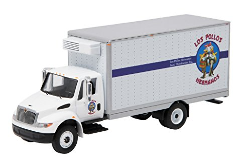 "GreenLight Collectibles Breaking Bad 2008-13 International Durastar ""Los Pollos Hermanos"" Box Van (1:64 Scale)"