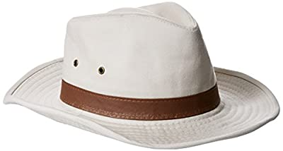 Dorfman Pacific Men's Twill Outback Hat from Dorfman Pacific Co., Inc
