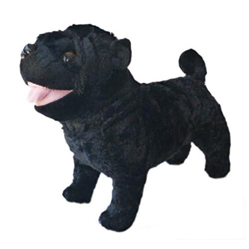 "ADORE 12"" Standing Rascal the Farting Pug Dog Stuffed Animal Plush Toy supplier"