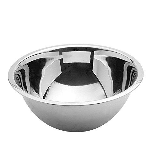 Weis ciotola da cucina Gastro 30 cm, Acciaio Inox, Argento, 30 x 30 x 10.5 cm 30x 30x 10.5cm 23330