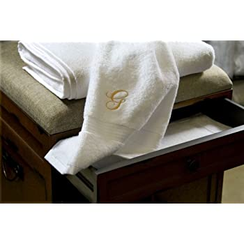Luxor Linens   Hand Towel Set   100% Egyptian Cotton Bathroom Hand Towel  Sets