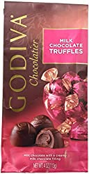 Godiva Milk Chocolate Truffle Candy, 4 Ounce -- 2 Per Case