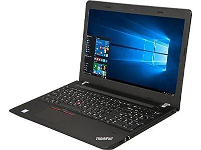"Lenovo ThinkPad E570 15.6"" FHD IPS Business Laptop Notebook, Intel i5-7200U up to 3.1GHz, DVDRW, Bluetooth, USB 3.0, HDMI, Webcam, Fingerprint Reader, Windows 10 Professional"