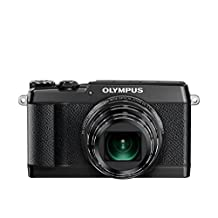 Olympus OLYMPUS STYLUS SH-2 Digital Camera Black- International Version (No Warranty)