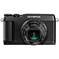 Olympus SH-2 Black 16.0 Mpix 24x super wide Zoom, V107090BE000 (24x super wide Zoom 3.0 460K dots touch LCD, full HD 60p Movie, Smart Panorama, built-in Wi-Fi)