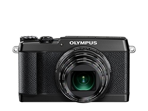 Olympus SH-2 Black 16.0 Mpix 24x super wide Zoom, V107090BE000 (24x super wide Zoom 3.0 460K dots touch LCD, full HD 60p Movie, Smart Panorama, built-in Wi-Fi) by Olympus