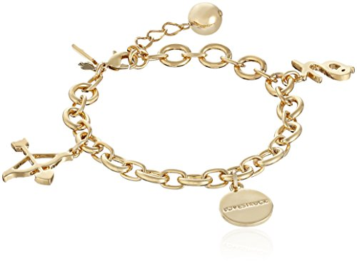"Kate Spade New York How Charming Valentine's Day Charm Bracelet, 7.5"" + 1"" Extender"