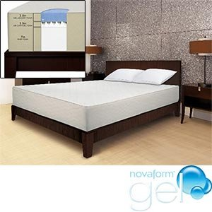 Novaform Gel Memory Foam Queen Mattress