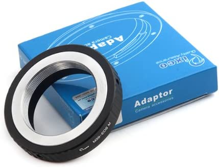 Pixco Lens Adapter for Leica L39 M39 Screw Lens to Canon EOS M2 M EF-M EOS-M Mirrorless Camera Adapter