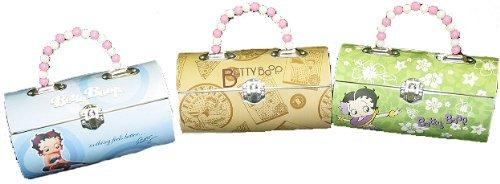 Betty Boop Rollbag-Style Metal Handbag Tin