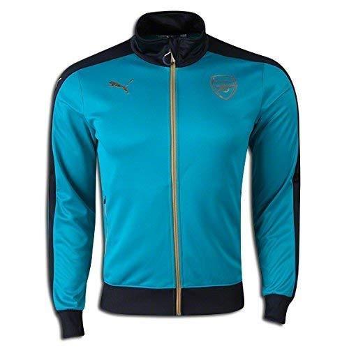 Puma Men's AFC Stadium Jacket, X-Large, Capri Breeze-Anthracite ()