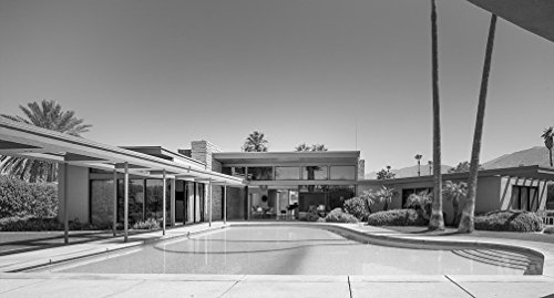 24 x 36 B&W Giclee Print Frank Sinatra's Twin Palms Estate, a Spectacular Example mid-Century Architecture in The Heart Palm Springs, California 2013 Highsmith 62a (Frank Sinatra Palm Springs)