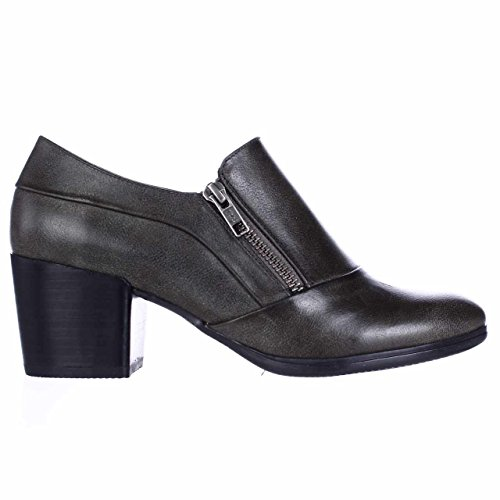 BareTraps Kelyn Side Zip Ankle Booties - Dark Grey fbGDwCnT