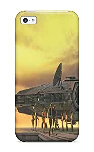 Tpu Case Cover For Iphone 5c Strong Protect Case - Star Wars Tv Show Entertainment Design