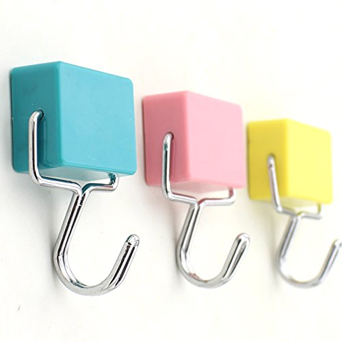 Z Zicome Super Strong Magnetic Hooks Set of 3