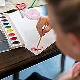 Crayola Artista 8 Semi-Moist Oval Pans Watercolor