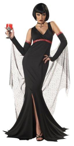 California Costumes Women's Immortal Seductress Costume,Black,Small