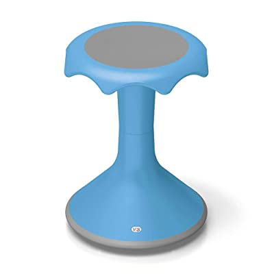 "VS America Hokki Stool 18"" Light Blue: Kitchen & Dining"