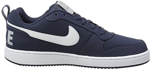 Grey Court Nike Gymnastique White Bleu Blue Homme Low Chaussures Borough Thunder de Wolf Sqdq76w